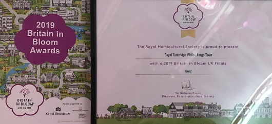 Royal Tunbridge Wells in Bloom - KMB/2019