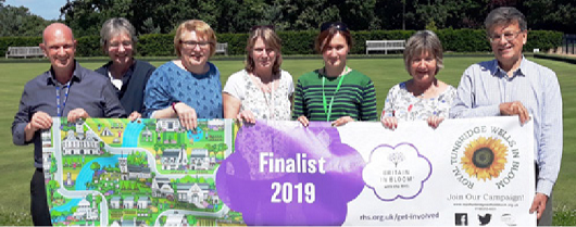 Royal Tunbridge Wells in Bloom - Bloom Team - portfolio 2019