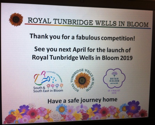 Royal Tunbridge Wells in Bloom - new start: 2019