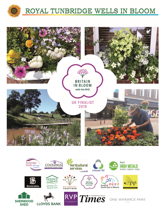 Royal Tunbridge Wells in Bloom - brochure 2019