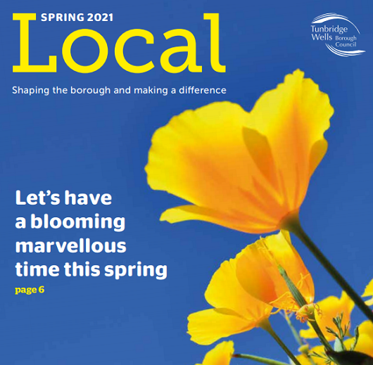 Royal Tunbridge Wells in Bloom 2021 - TWBC Local Magazine Spring 2021